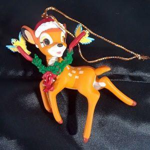 Collectible Bambi Christmas ornament 1990's